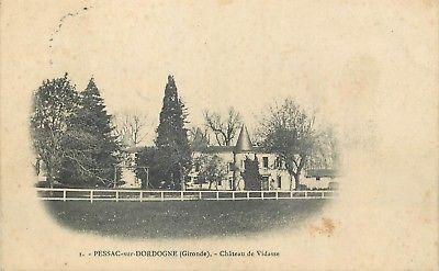 33-Pessac-Sur-Dordogne-Chateau-De-Vidasse
